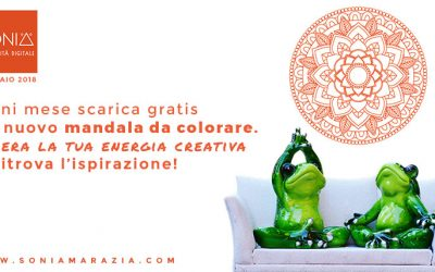 Risorse creative: il mandala da colorare – Gennaio