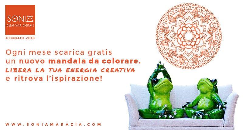 Risorse creative: il mandala da colorare